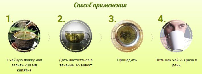 Монастырский чай от простатита инструкция по применению